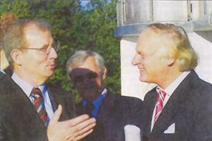 Dietrich Austermann besucht Titan Präcis
