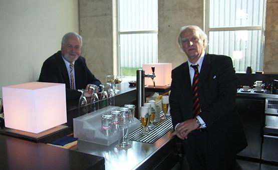Titan Präcis - Ministerpräsident Carstensen zu Besuch