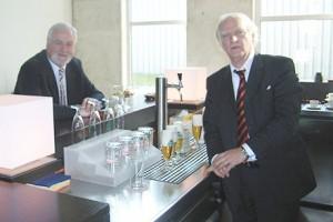 Ministerpräsident Carstensen besucht Titan Präcis
